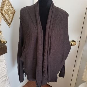 Maurices brown knit cardigan. Size 2X